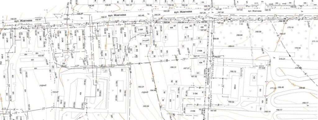 Створення топографо - геодезичних планів з використанням дронів (план)